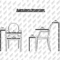 2xhome - Set of Two (2) - Clear - Belle Ghost Chair Clear Side Chair Armless - Thumbnail 5