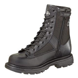 Thorogood Work Boot Mens Zip Waterproof Leather Uniform Black 834-7991