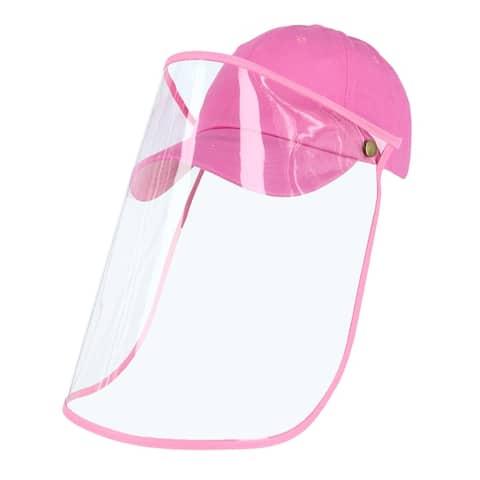 CTM® Baseball Cap with Detachable Face Shield