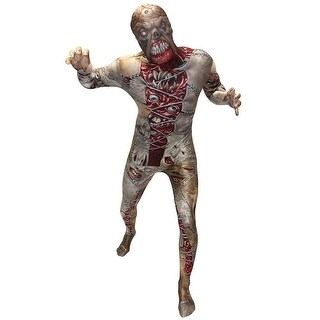 Facelift Morphsuit Costume Adult - Beige