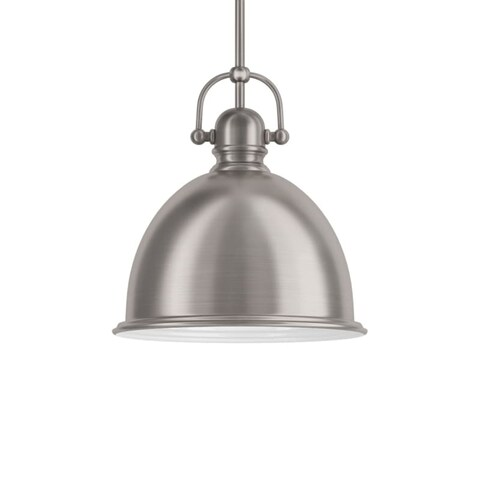 """Park Harbor PHPL5441 13"""" Wide Single Light Single Pendant with Industrial Style Shade"""