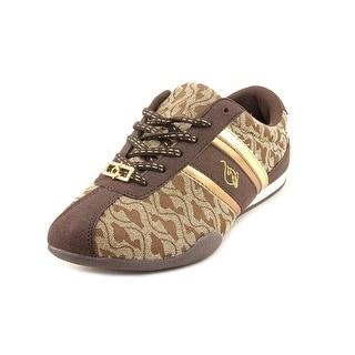 Baby Phat Elisa Jacquard Women Round Toe Canvas Sneakers