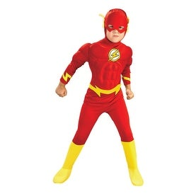 Deluxe Muscle Chest The Flash Kids Halloween Costume