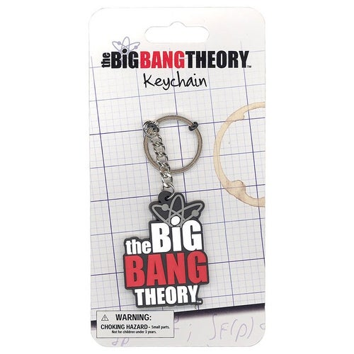 The Big Bang Theory Logo Keychain - Multi