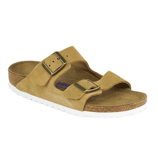 ad5d0cdee21 Shop Birkenstock Arizona Soft Footbed Suede Leather Sandals - On Sale -  Free Shipping Today - Overstock - 23467289