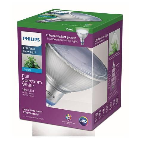 Philips 532969 PAR38 Plant Grow Light LED Bulb, Clear, 16 Watts