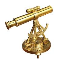 Deco 79 28147 Brass Telescope Compass Feel The Distant Objects Nearer