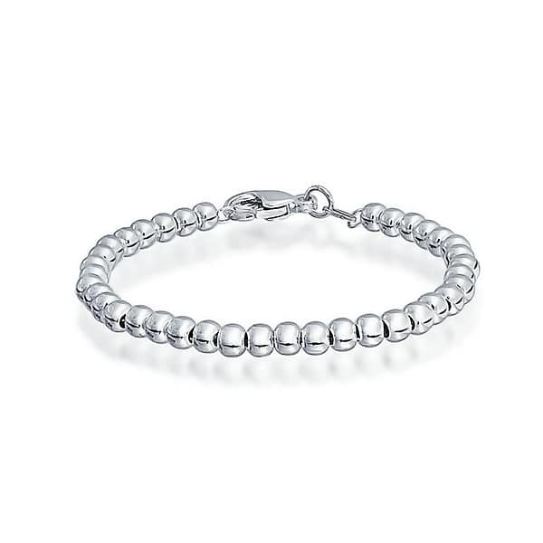 Silver Bangle With Tiny Stars Sterling Silver