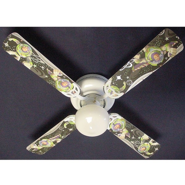 Children's Buzz Lightyear 42in Ceiling Fan Light Kit - Multi