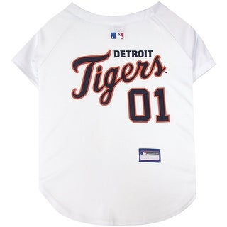 Detroit Tigers Dog Jersey - Extra Small