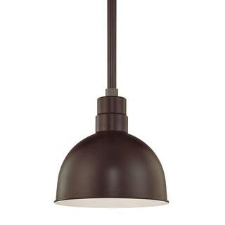 """Millennium Lighting RDBS12 R Series 1 Light 12"""" Wide Outdoor Bowl Shade"""
