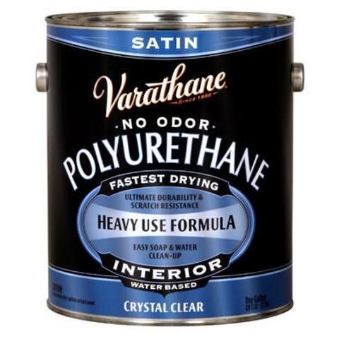 Varathane 200231 Interior Water-Based Polyurethane, 1 Gallon