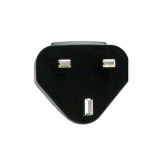 OEM BlackBerry UK Adapter Prong (Black) - ASY-03746-001