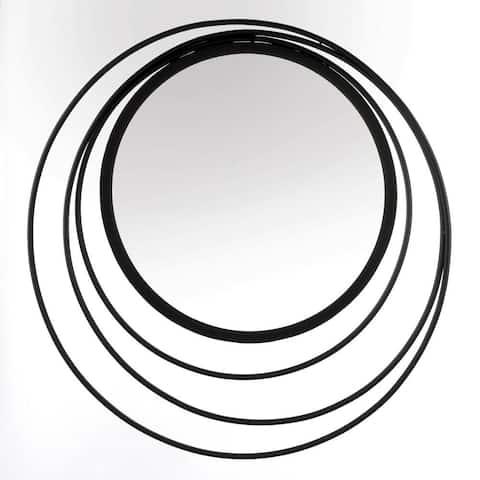 Modern Three Ring Wall Mirror