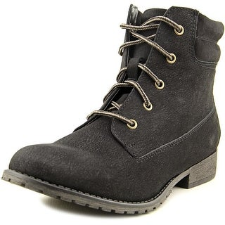 Madden Girl Crush Round Toe Synthetic Ankle Boot