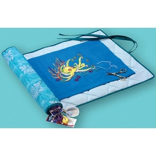 "Needlework Project Keeper-24""X16.5"" Turquoise"