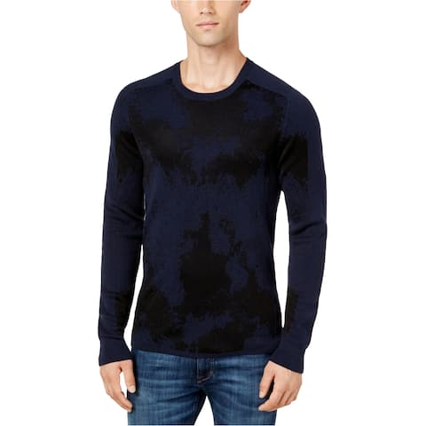 Guess Mens Jacquard Knit Sweater