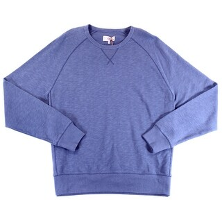 JACK SPADE NEW Blue Mens Size 2XL Ribbed Pullover Crewneck Sweater