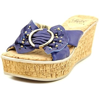 Love and Liberty Bella   Open Toe Synthetic  Wedge Sandal