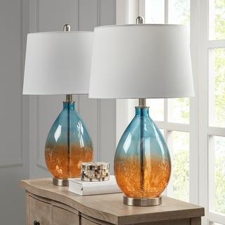 510 Design Cortina Blue Table Lamp (Set of 2)