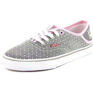 Levi's Maddy Buck Stripes Women Round Toe Canvas Sneakers