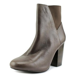 BCBGeneration Lillyan Round Toe Leather Ankle Boot