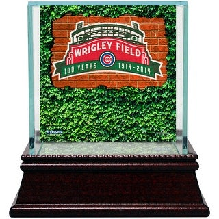 Chicago Cubs Wrigley Field 100 Year Anniversary Single Ball Display Case