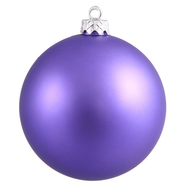"4.75"" Purple Matte Ball UV Shatterproof"