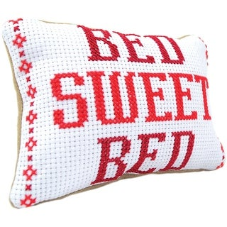 Mini Pillow Counted Cross Stitch Kit-
