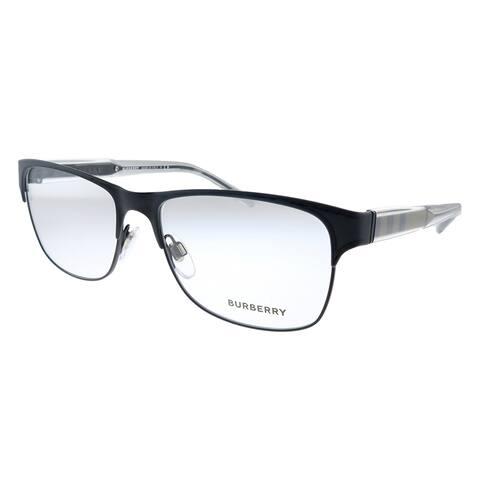 Burberry BE 1289 1007 55mm Unisex Black Frame Eyeglasses 55mm