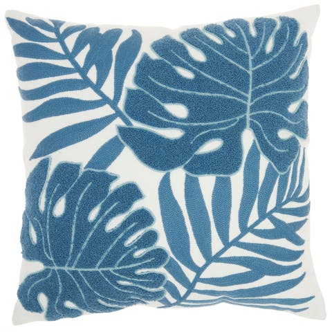 "Mina Victory Life Styles Blue Throw Pillow , ( 18""X18"" )"