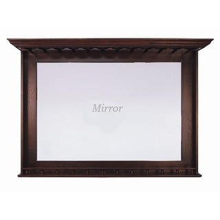 RAM Gameroom Products 36 in. H x 52 in. W x 10 in. D Bar Mirror -