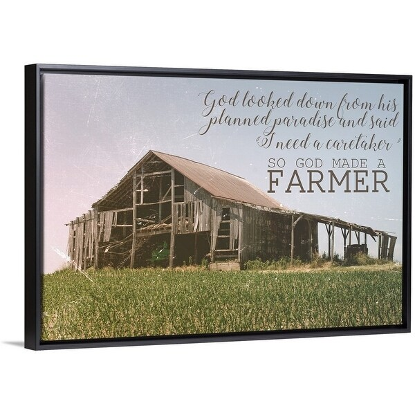 Shop Amber Berninger Floating Frame Premium Canvas With Black Frame