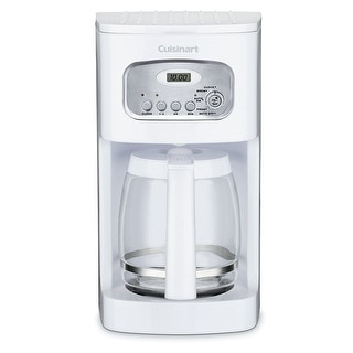 Link to Cuisinart DCC-1100 12-Cup Programmable Coffeemaker, White Similar Items in Coffee Makers