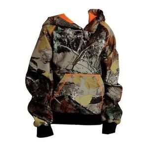 Roper Western Sweatshirt Boy Kid Hoodie Camo Brown 03-397-0300-0511 BR