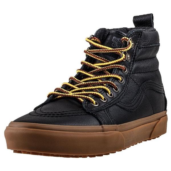 618336a981 Shop Vans Mens Sk8-Hi MTE Sneaker - Black leather - 11 b(m) women ...