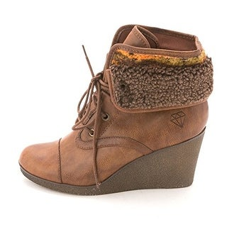 ROCK & CANDY Womens SABRA Round Toe Ankle Fashion Boots