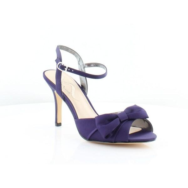 Nina Vashti Women's Heels Grape