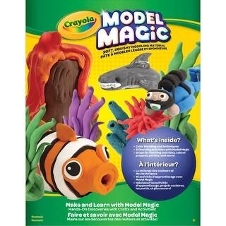 Crayola Model Magic Idea Book-Make & Learn