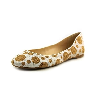 Nine West Adorabl Women Round Toe Synthetic White Ballet Flats