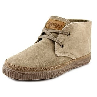 Natural World Safari Round Toe Suede Ankle Boot