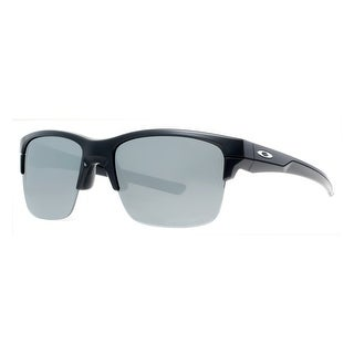 OAKLEY Sport Thinlink Men's 03 Polished Black Black Iridium Sunglasses - 63mm-11mm-136mm