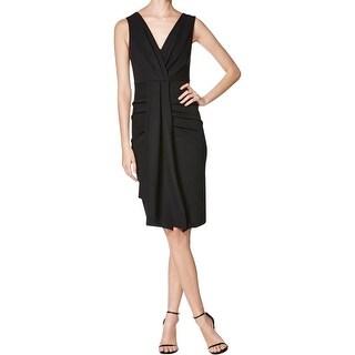 Kobi Halperin Womens Celeste Cocktail Dress Sleeveless Pleated