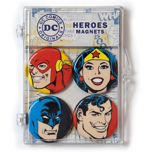 DC Comics Heroes Magnet 4-Pack - Multi