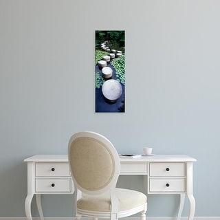 Easy Art Prints Panoramic Images's 'Shrine Garden, Kyoto, Japan' Premium Canvas Art