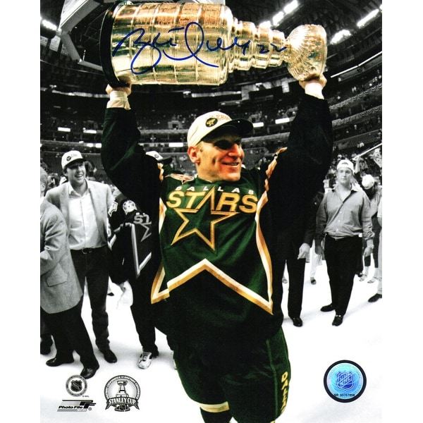 Shop Brett Hull Dallas Stars 1999 Stanley Cup Trophy 8x10