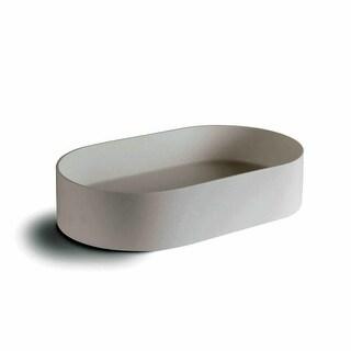 """WS Bath Collections Momon 53561 Momon 23-3/5"""" Vessel Bathroom Sink"""