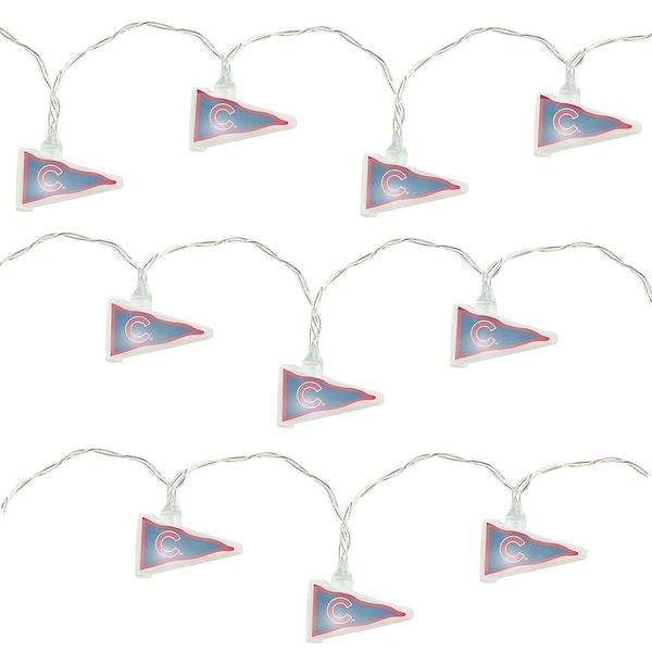 Chicago Cubs Pennant Party Lights - Multi. Opens flyout.