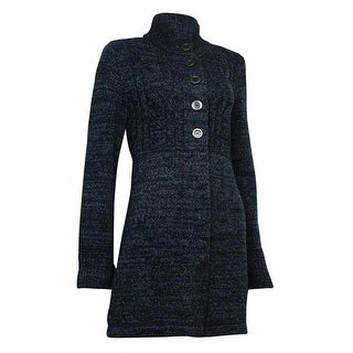 Style & Co. Women's Semi Button Front Sweater