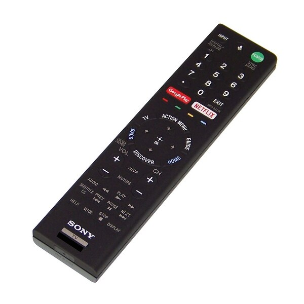 OEM Sony Remote Originally Shipped With: XBR65X857D, XBR-65X857D, XBR85X855D, XBR-85X855D, XBR55X857DS, XBR-55X857DS